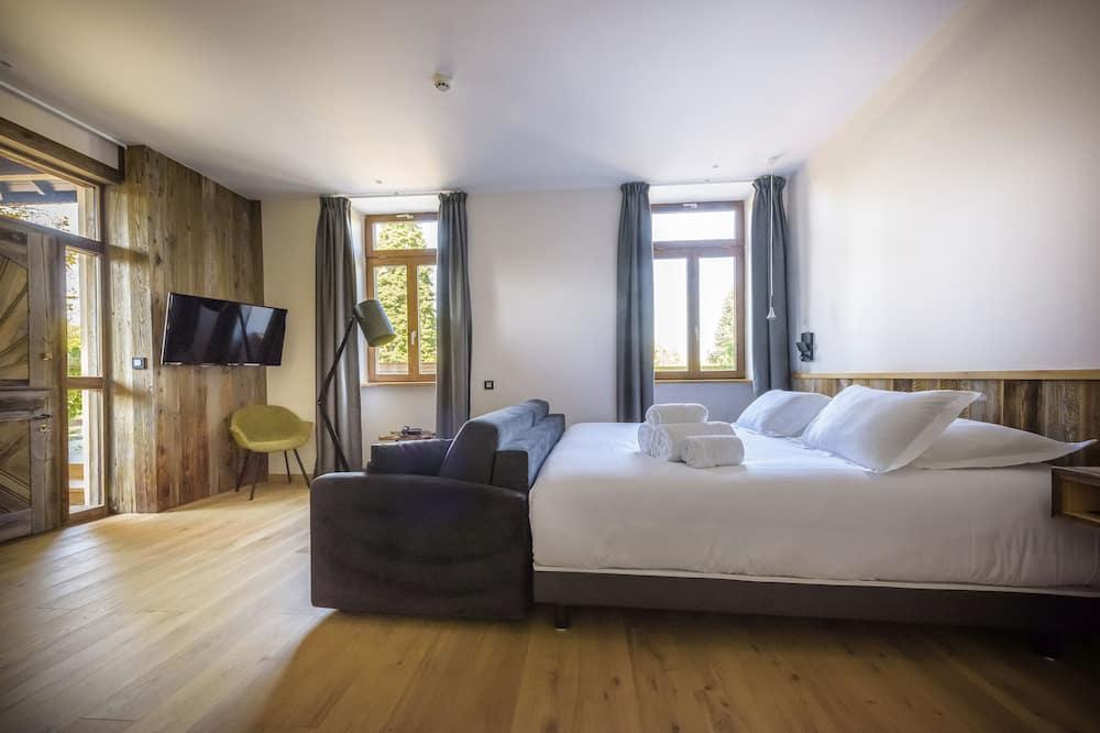 Junior-Suite, Blick auf den Innenhof - Ausblick vom Zimmer