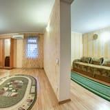 Pokój rodzinny, 2 sypialnie, balkon - Powierzchnia mieszkalna