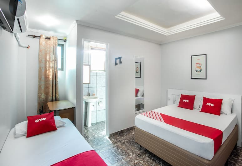 OYO Tiquatira Hotel, Sao Paulo, Standard Triple Room, Bilik Tamu