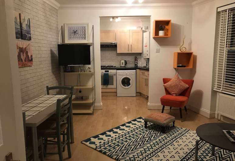 邦德斯貝利阿姆斯酒店, 倫敦, 公寓, 1 張標準雙人床及 1 張梳化床, 客廳