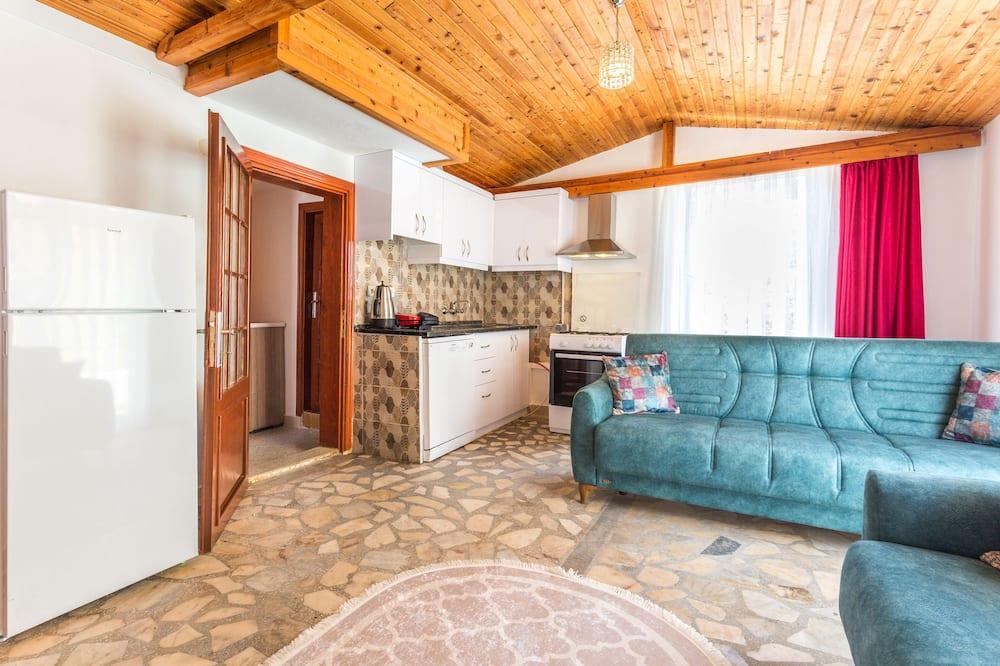Dizajnový apartmán, terasa, výhľad na mesto - Obývacie priestory