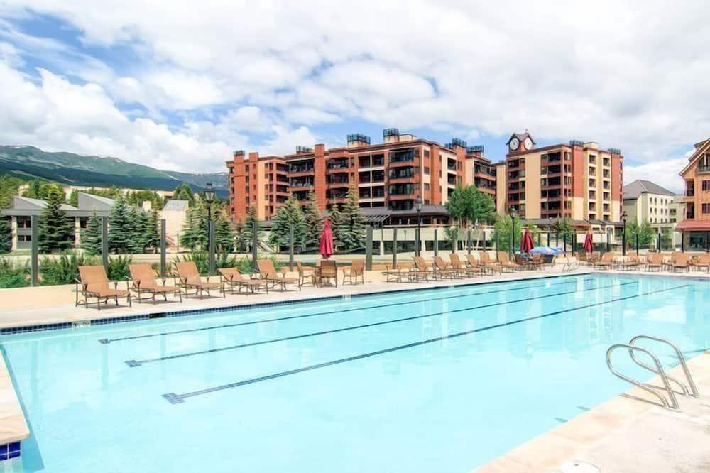 公寓客房 (Breck_MainStStation_1307) - 室外游泳池