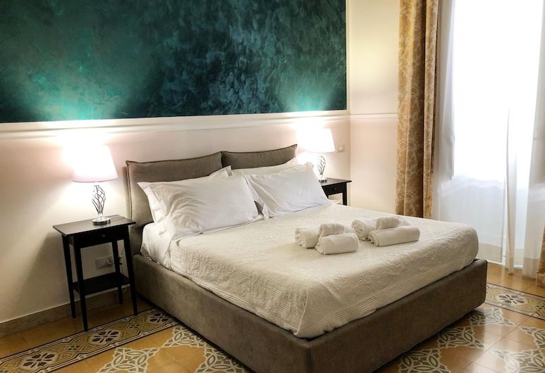 Liberty Palace, Palermo, Camera Deluxe, 1 letto queen con divano letto, vista città (La Cattedrale), Camera