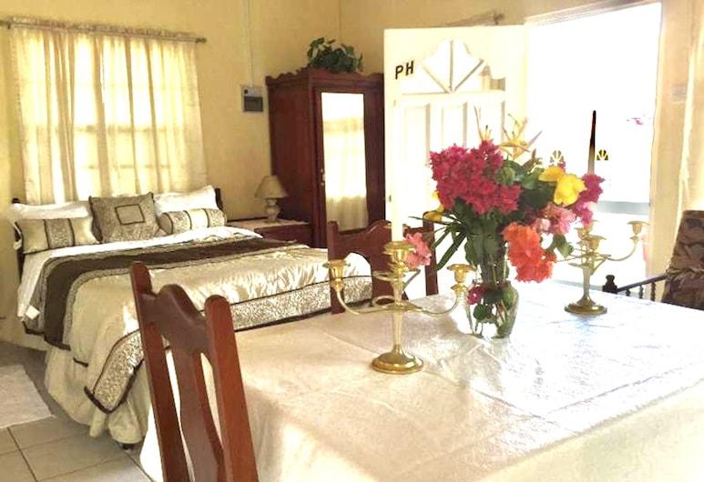 Willies Court apartments, St. John, Comfort Room, Bilik Tamu