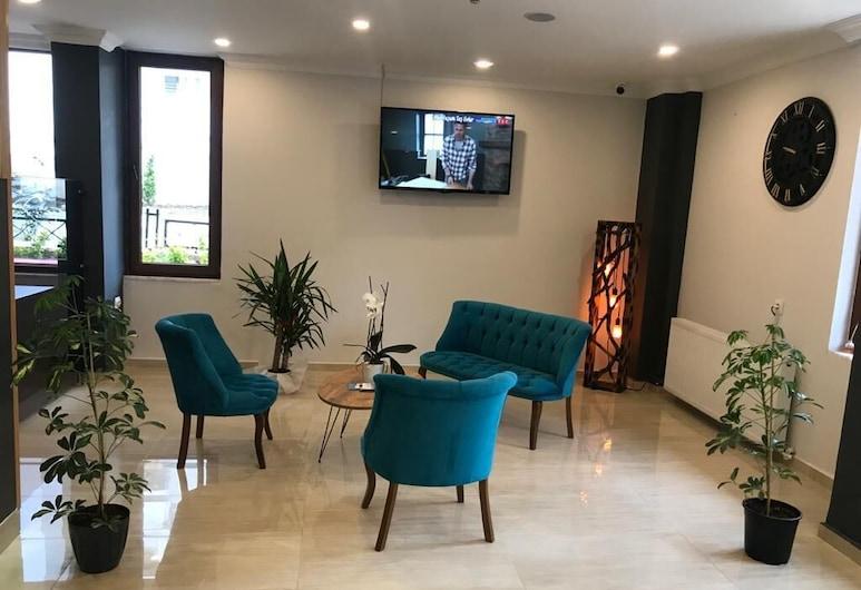 Grand Krone Hotel, Cinarcik, Sala de estar en el lobby