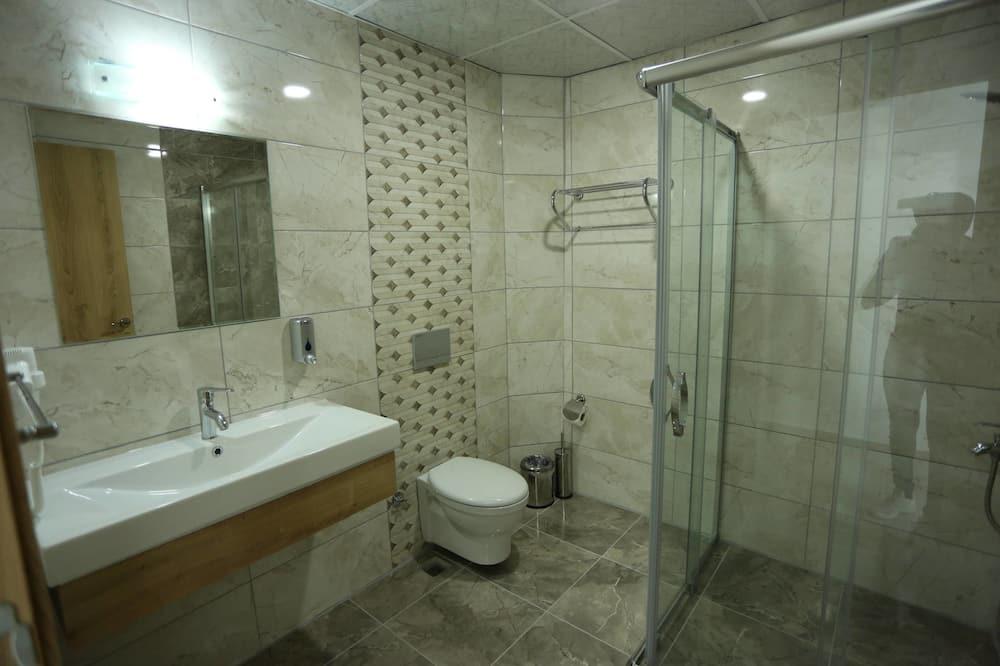 Family Quadruple Room, Sea View - Bathroom