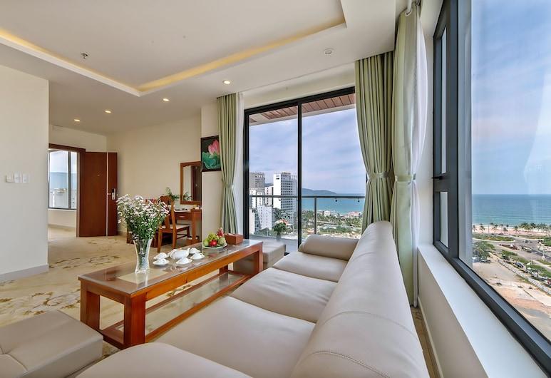 福美安海灘酒店, 峴港, 客房, 露台, 海景 (Suite), 庭園