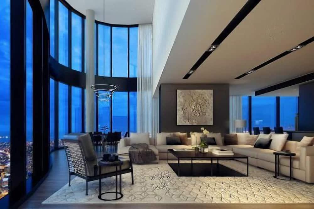 Luxury Penthouse - Living Area