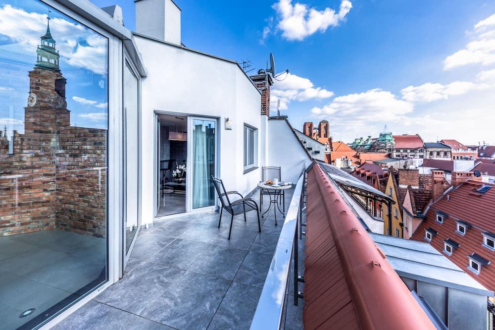 皇室公寓, 2 間臥室, 露台, 城市景 - 陽台