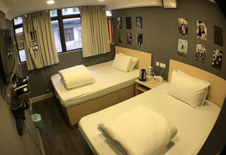Soso Hostel, Hongkong, Tomannsrom, Gjesterom