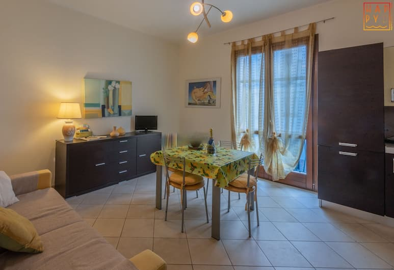 Happy Sardinia In Centre, Alghero, Appartamento, 2 camere da letto, Area soggiorno