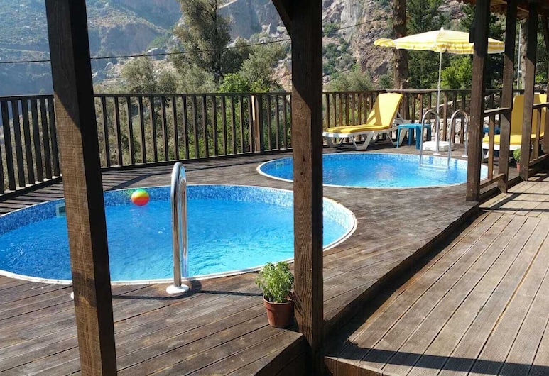Baharoglu Life House Faralya, Fethiye, Villa Asli, Terrass