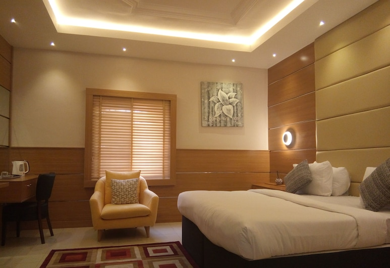 Saabhi Hotel Jabi, Abuja, Izba typu Deluxe, Hosťovská izba
