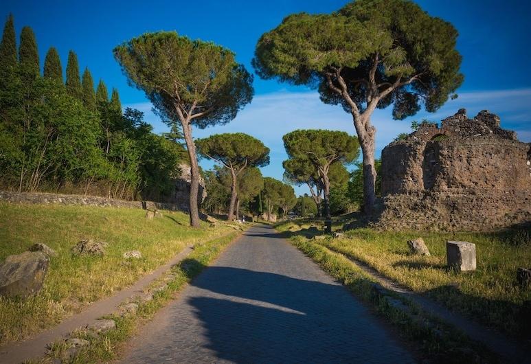 阿匹亞安提卡小屋酒店, 羅馬, 住宿範圍