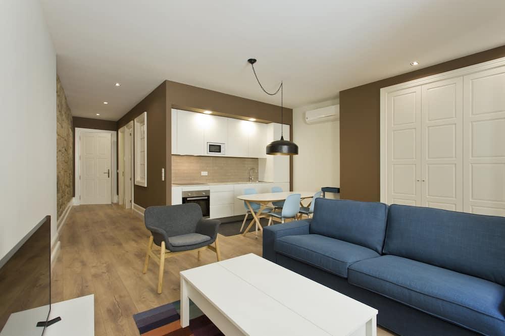 公寓, 2 間臥室 (4 people) - 客廳