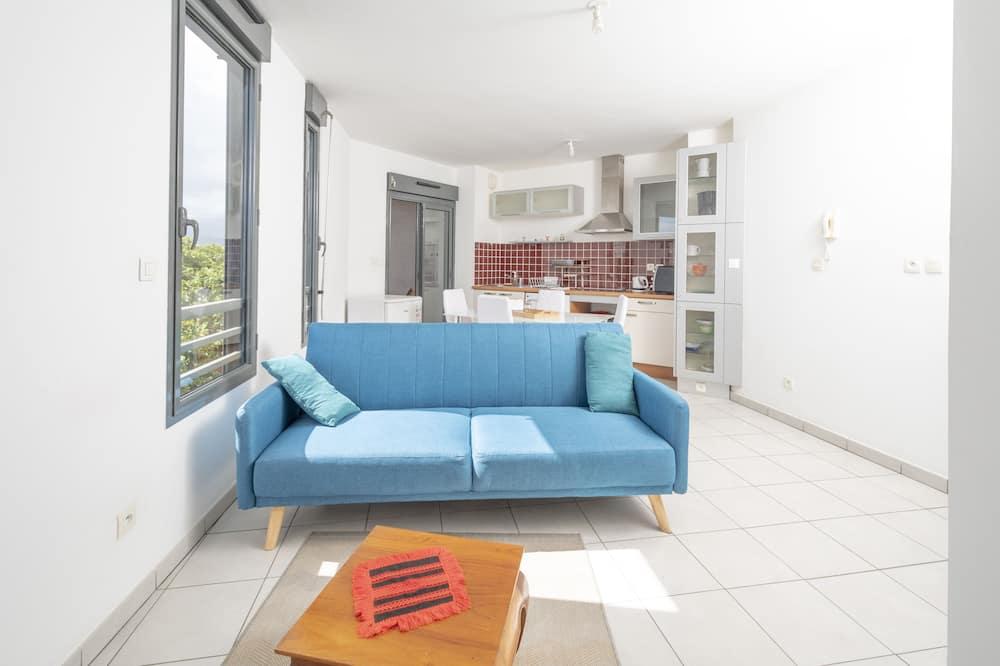 Apartmán (1 Bedroom) - Obývací prostor