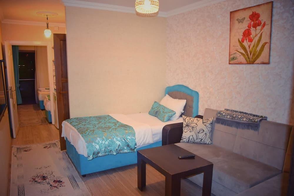 Familjelägenhet - 2 sovrum - sjöutsikt - vid sjön - Vardagsrum