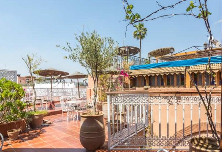 Hotel Atlas, Marrakech, Terrasse/patio