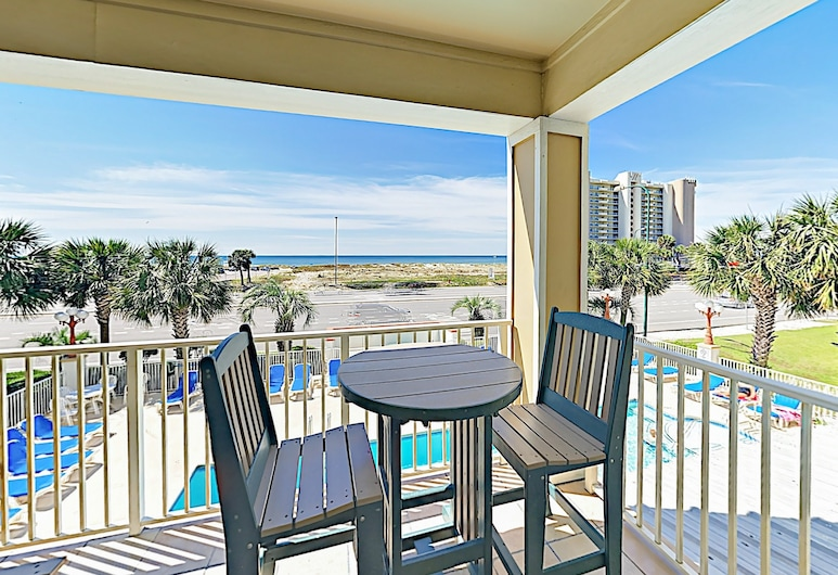 Breezy Gulf-View Unit #209 - 2 Br Condo, Pantai Orange , Condo, 3 Bedrooms, Balkoni