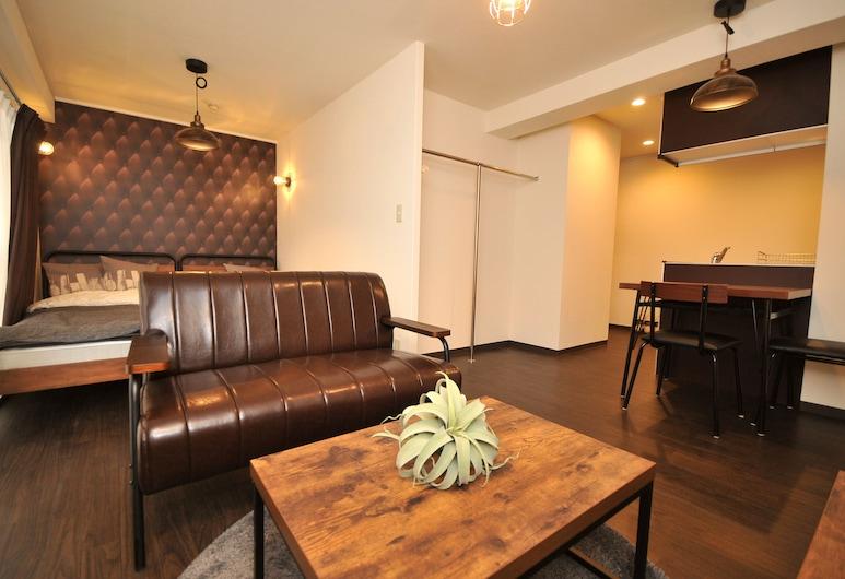 ميزون ميلانو ناكاتسو روم 502, أوساكا, شقة - غرفة نوم واحدة, منطقة المعيشة