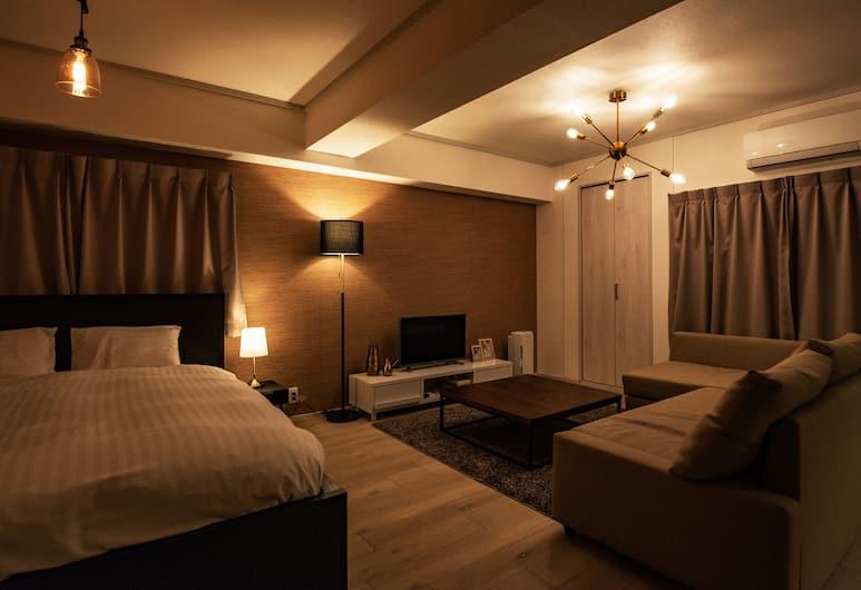 H2O Stay Morishita, Токио, Стандартный двухместный номер с 1 двуспальной кроватью (301), Номер