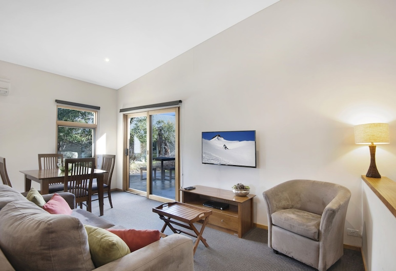 Four Mile Hut, Crackenback, House, Mountain View, Living Area