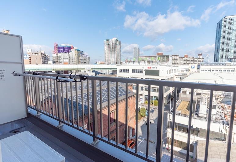ヴィラペントハウス天満, 大阪市, スーペリア ルーム ダブルベッド 2 台, バルコニーからの眺望