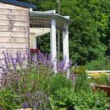 סוויטה משפחתית - נוף לגן
