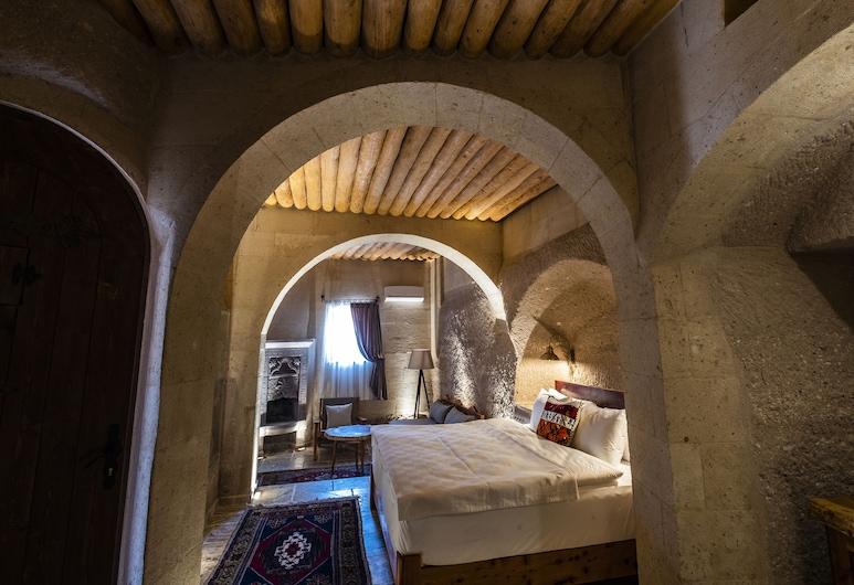 Petra Inn Cappadocia, נבשהיר, סוויטת דה-לוקס, חדר אורחים