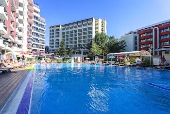 Foto van Admiral Plaza Hotel in Sunny Beach