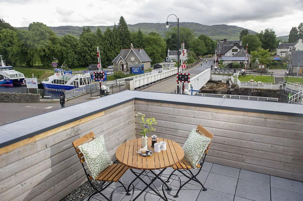 Habitación familiar (Loch Ness) - Vista al balcón