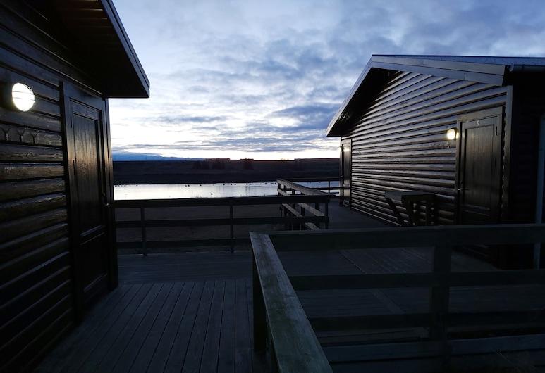 Riverfront Boutique Lodge, Rangárþing ytra, Taras/patio
