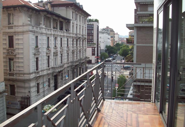 Apartment Nido Stazione, Μπέργκαμο, Αίθριο/βεράντα
