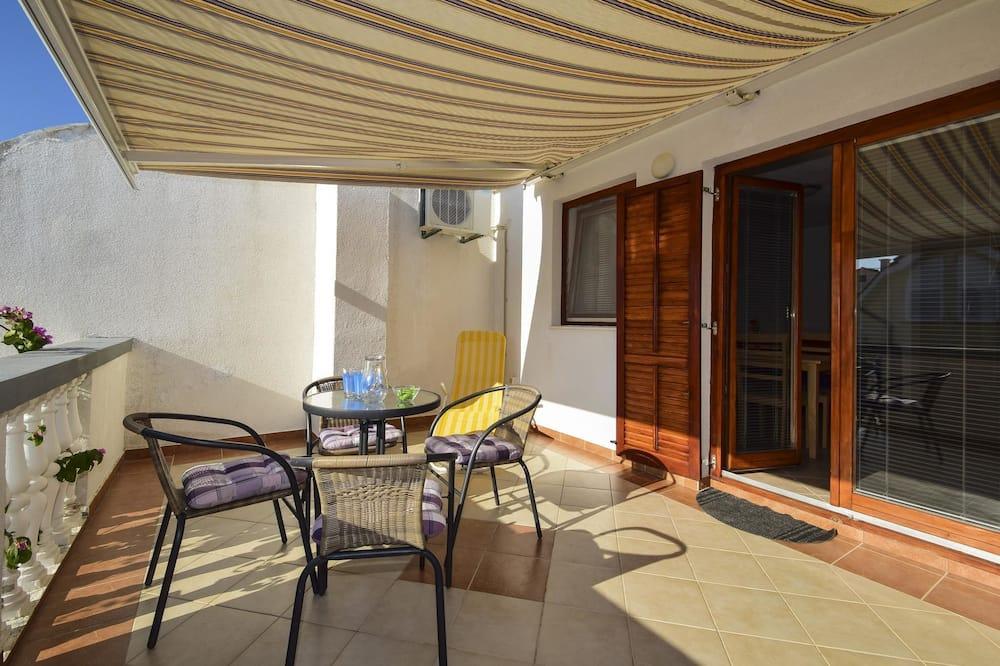 Apartamentai, 1 standartinė dvigulė lova ir 1 sofa-lova - Balkonas