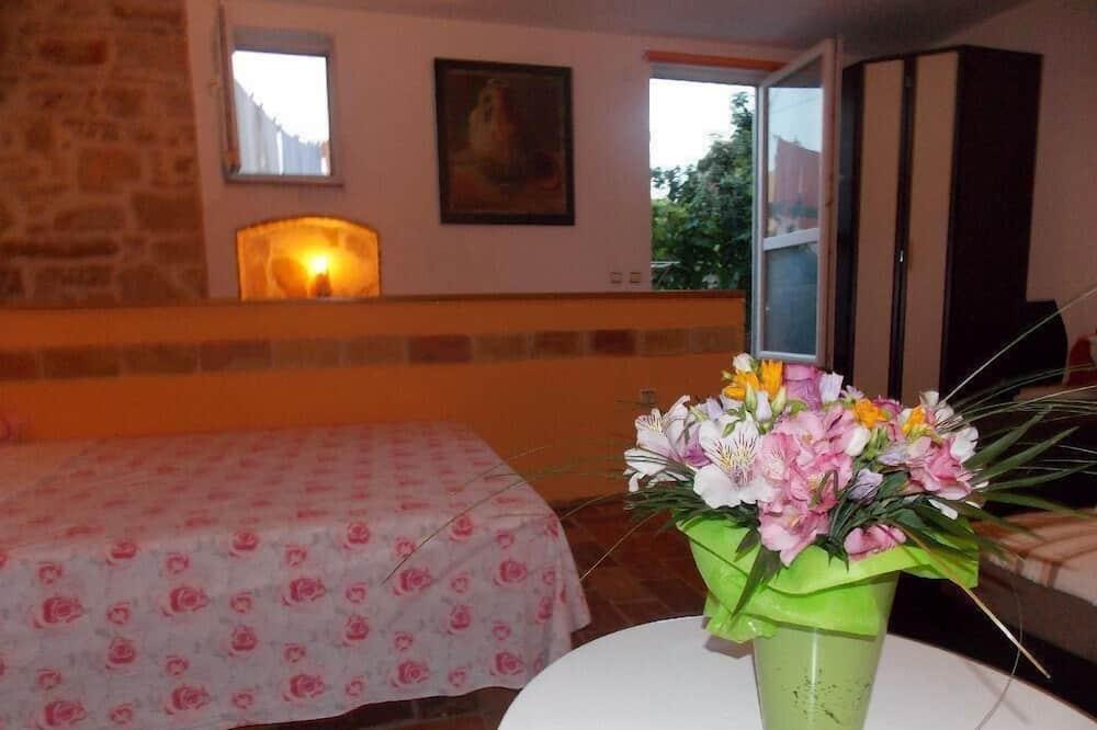 Appartement, 1 lit double et 1 canapé-lit - Cuisine privée