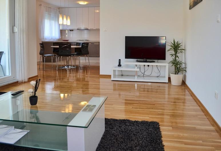 Apartment Davor / Two Bedroom A1, Podstrana, Obývačka