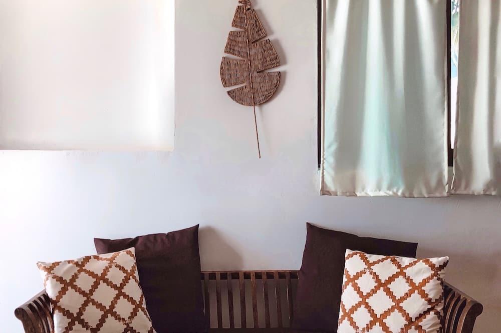 Apartament typu Panoramic, 1 sypialnia, kuchnia, widok na ocean (Piano Terra) - Powierzchnia mieszkalna