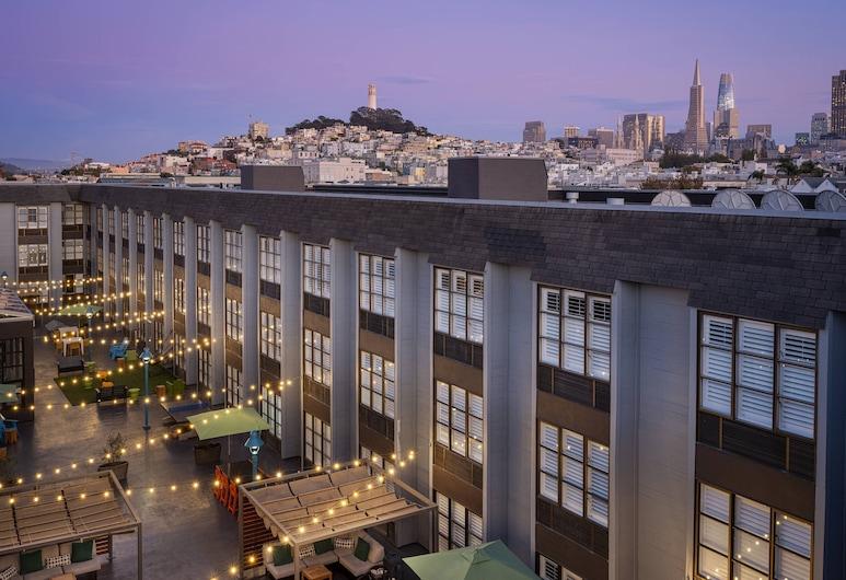 舊金山脈動萬豪渡假會館, 舊金山, 外觀