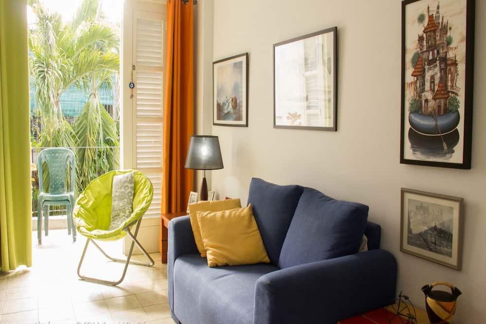 Comfort-lejlighed - byudsigt - Opholdsområde