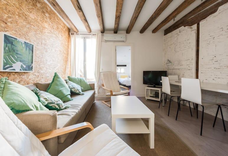 Apartamento Espectacular Terraza Solarium, Madrid, Apartman, 2 spavaće sobe, Dnevni boravak