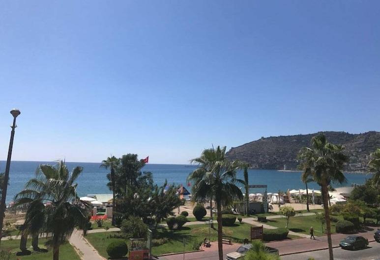 Seker Beach Apart Hotel, Alanya, Teras/Veranda