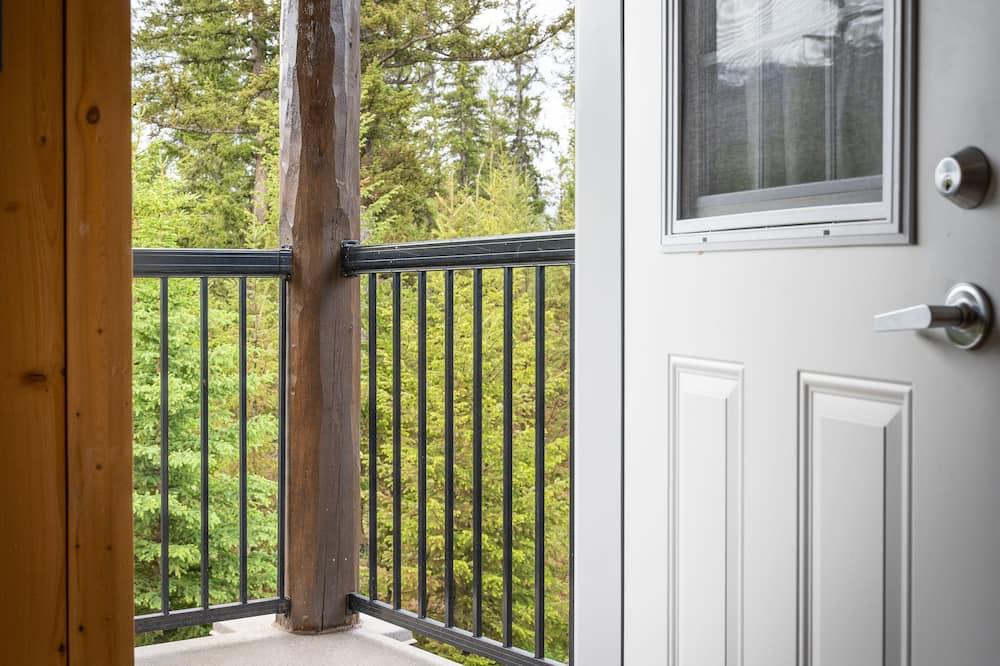 Komforta vienvietīgs numurs, skats uz kalniem - Balkons