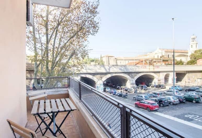 聖保羅 VII 之家酒店, 羅馬, 高級客房, 1 張特大雙人床, 城市景 (1), 露台