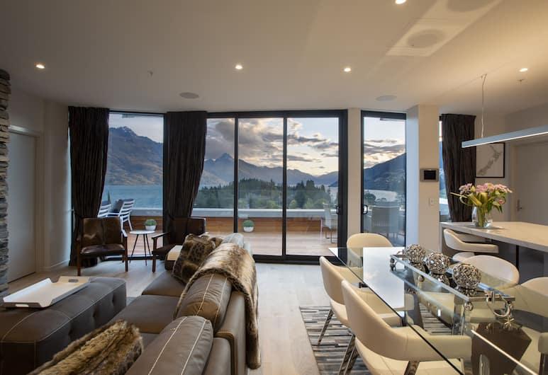Ramada Queenstown Central, Queenstown, Luxury Penthouse, Living Area