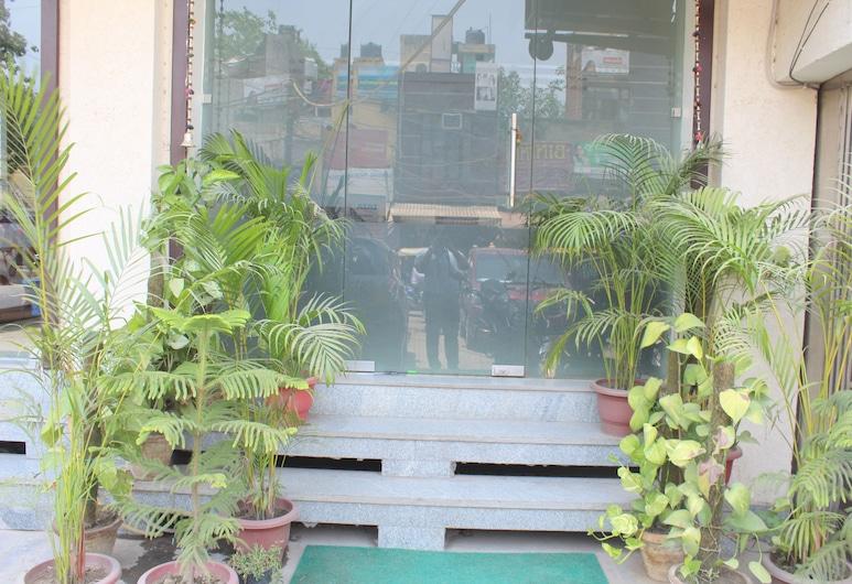 Hotel South Delhi Inn, New Delhi, Hotellets indgang