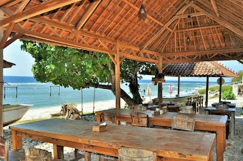 Foto di Jukung Cottage Beach Bar And Restaurant a Nusa Penida