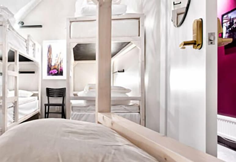 Ramilton Old Town Hostel, Stockholm, Gemeinsamer City-Schlafsaal (4 Beds), Zimmer