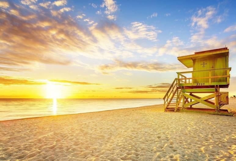بيوتيفول 2 بد رومز، ساوث بيتش!!!, ميامي بيتش, الشاطئ