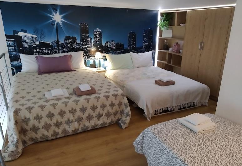Amber Apartments Penthouse, Βαρσοβία, Exclusive Μεζονέτα, Θέα στην Πόλη, Δωμάτιο