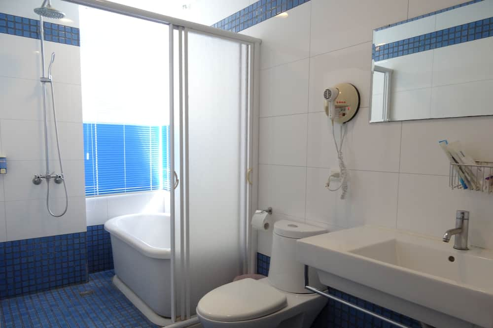 全景四人房 - 浴室